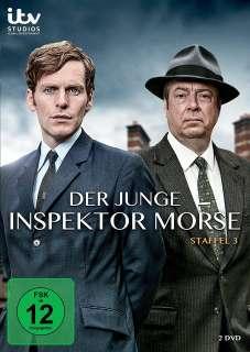 Der junge Inspektor Morse- Staffel 3 (DVD) Cover