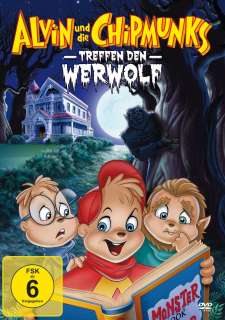 Alvin und die Chipmunks treffen den Werwolf (DVD) Cover