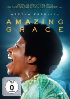 Amazing grace - Aretha Franklin (DVD) Cover