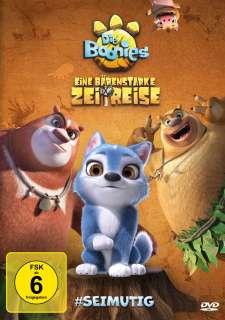 Die Boonies - eine bärenstarke Zeitreise (DVD) Cover