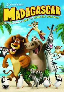 Madagascar (DVD) Cover