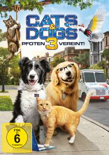 Cats & dogs 3 - Pfoten vereint! (DVD) Cover