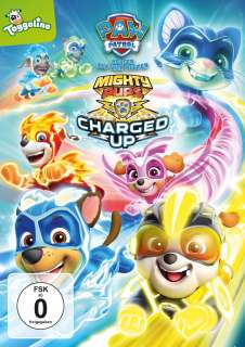 Mighty pups charged up! Cover