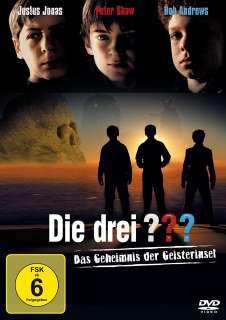Das Geheimnis der Geisterinsel (DVD) Cover