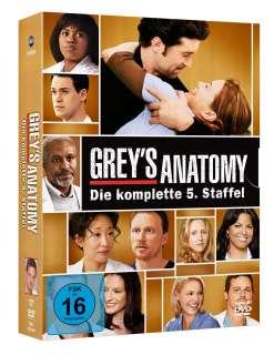 grey's anatomy staffel 5 Cover