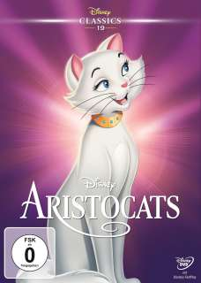 Aristocats (DVD)  Cover