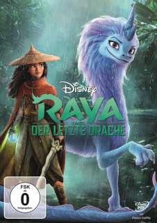 Raya und der letzte Drache (DVD) Cover