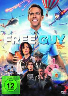 Free Guy (DVD) Cover