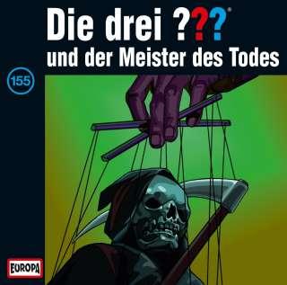 Die drei ??? und der Meister des Todes Cover