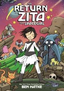 The return of Zita the Spacegirl Cover