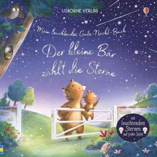 Mein leuchtendes Gute-Nacht-Buch - der kleine Bär zählt die Sterne Cover