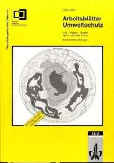Arbeitsblätter Umweltschutz Cover