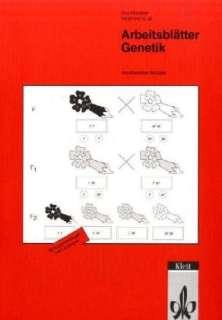 Arbeitsblätter Genetik Cover