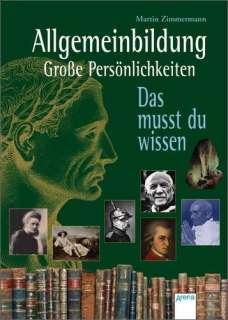 Allgemeinbildung - große Persönlichkeiten Cover