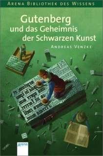 Gutenberg und das Geheimnis der schwarzen Kunst Cover