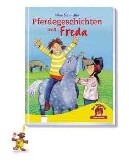 Pferdegeschichten mit Freda Cover
