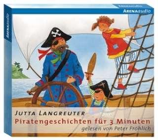 Piratengeschichten für 3 Minuten Cover