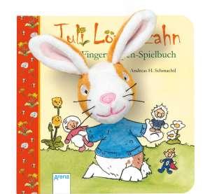 Juli Löwenzahn - mein Fingerpuppen-Spielbuch Cover