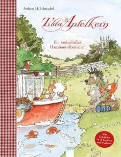 Tilda Apfelkern - ein zauberhaftes Hausboot-Abenteuer Cover