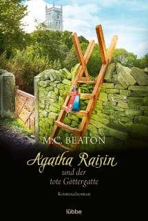 Agatha Raisin und der tote Göttergatte Cover