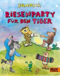 Riesenparty für den Tiger Cover