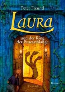 Laura und der Ring der Feuerschlange Cover