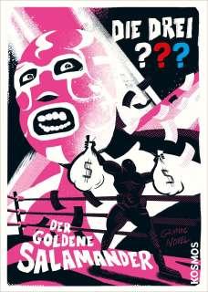 Der Goldene Salamander Cover