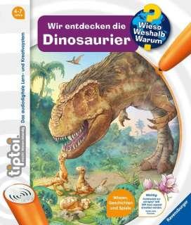 Wir entdecken die Dinosaurier Cover