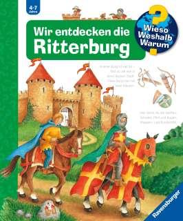 Wir entdecken die Ritterburg Cover