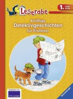 Knifflige Detektivgeschichten für Erstleser Cover