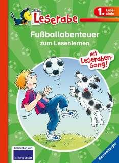 Fußballabenteuer zum Lesenlernen Cover