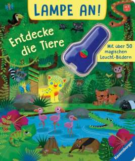 Lampe an! Entdecke die Tiere Cover