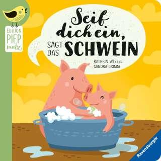 Seif dich ein, sagt das Schwein Cover