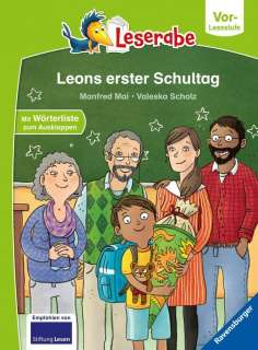 Leons erster Schultag Cover