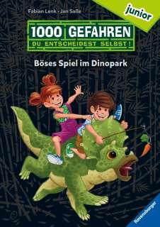 Böses Spiel im Dinopark Cover