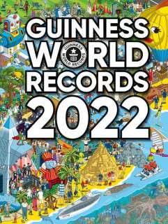 Guinness World Records 2022 Cover