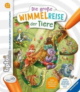 Die grosse Wimmelreise der Tiere Cover