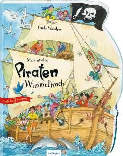 Mein großes Piraten-Wimmelbuch Cover