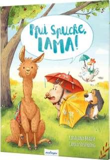Pfui Spucke, Lama! Cover