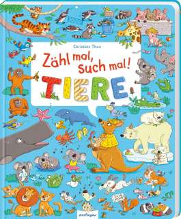 Zähl mal, such mal! Tiere Cover