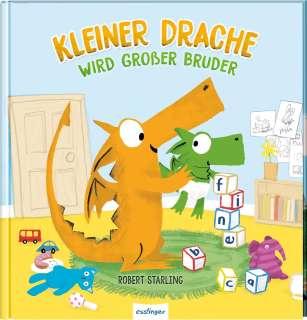 Kleiner Drache Finn: Kleiner Drache wird großer Bruder Cover