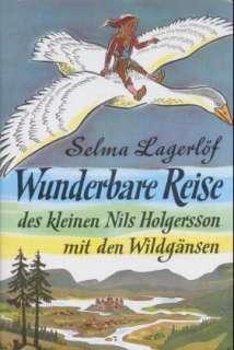 Wunderbare Reise des kleinen Nils Holgersson mit den Wildgänsen Cover