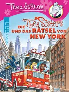 Die Thea Sisters und das Rätsel von New York Cover