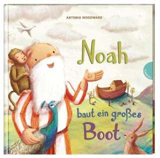 Noah baut ein großes Boot Cover
