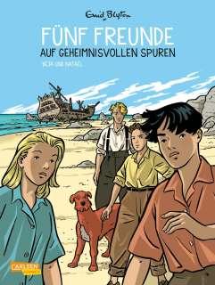 Fünf Freunde auf geheimnisvollen Spuren Cover