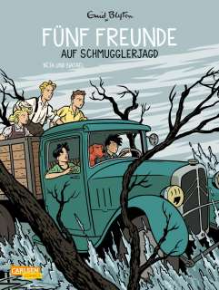 Fünf Freunde auf Schmugglerjagd Cover