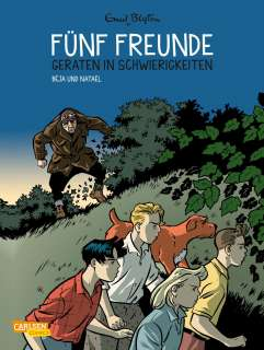 Fünf Freunde (5) in Gefahr Cover