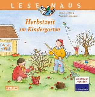 Herbstzeit im Kindergarten Cover