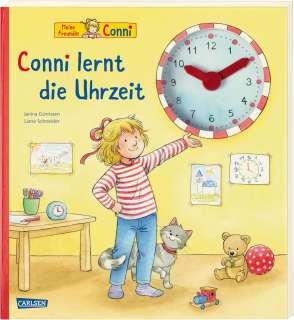 Conni lernt die Uhrzeit Cover