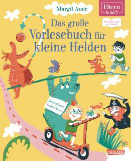 Das große Vorlesebuch für kleine Helden Cover